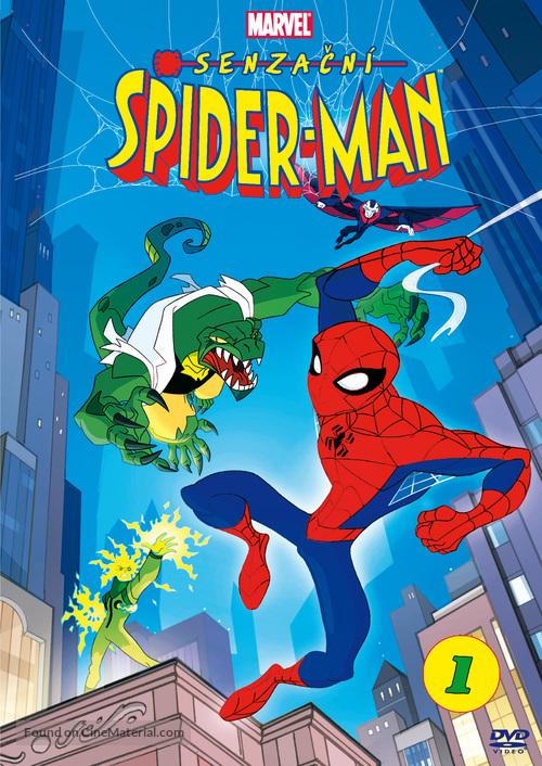 """The Spectacular Spider-Man"" - Czech DVD cover"
