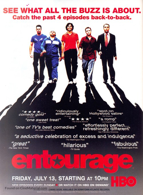 """Entourage"" - Movie Poster"