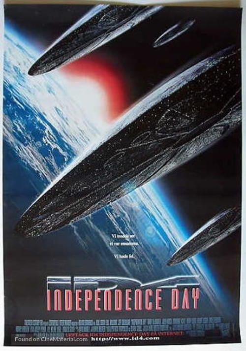 Independence Day - Swedish Movie Poster