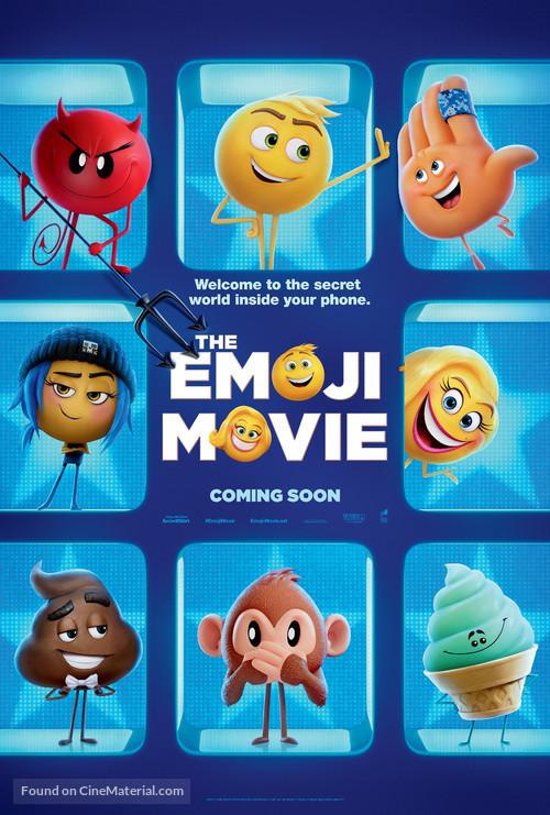 The Emoji Movie - International Teaser movie poster