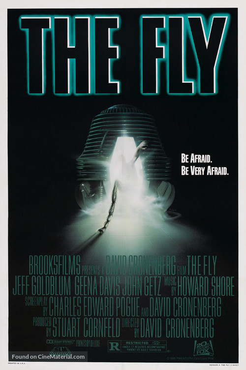 The Fly - Theatrical movie poster