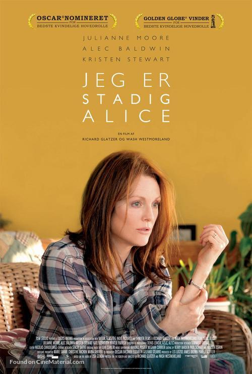 Still Alice - Danish Movie Poster