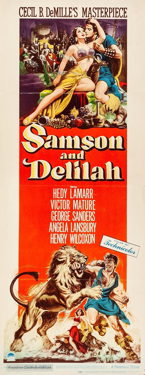 Samson and Delilah - Movie Poster