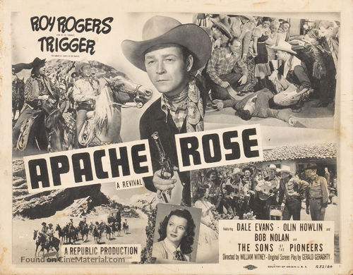 Apache Rose - Re-release movie poster