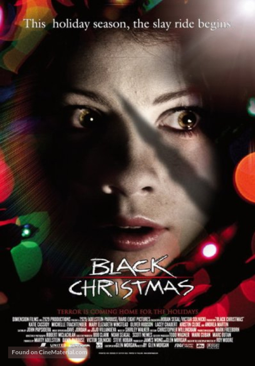 Image result for Black Christmas (2006) poster