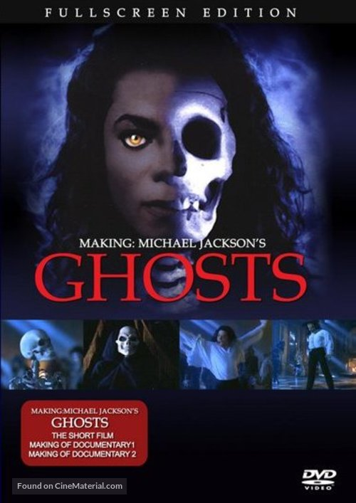 Ghosts - DVD movie cover