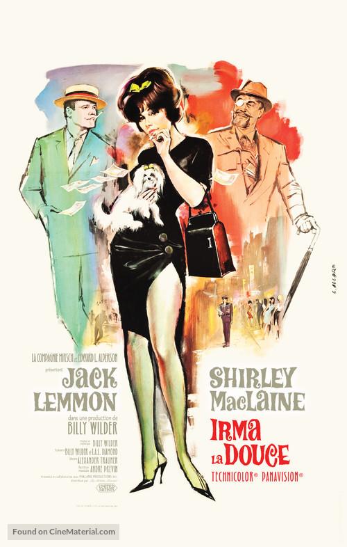 Irma la Douce - French Movie Poster