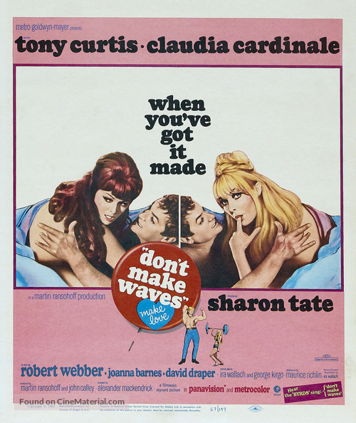 Don't Make Waves - Movie Poster