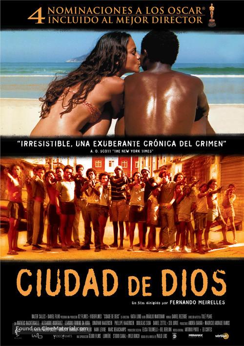 Cidade de Deus - Spanish Movie Poster