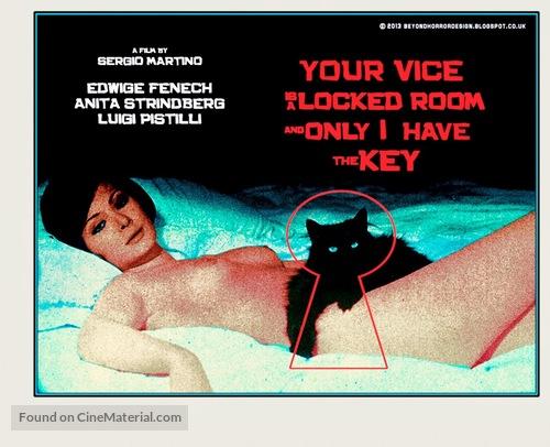 Il tuo vizio è una stanza chiusa e solo io ne ho la chiave - Movie Poster