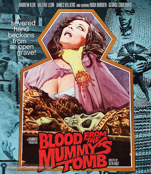 Blood from the Mummy's Tomb - Movie Cover