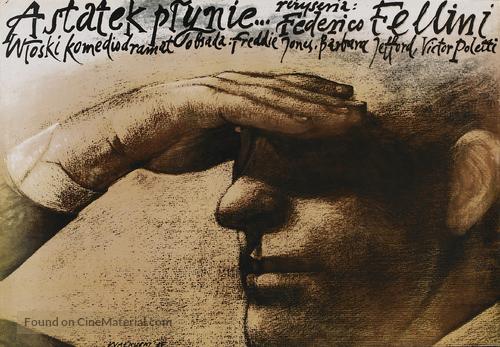 E la nave va - Polish Movie Poster
