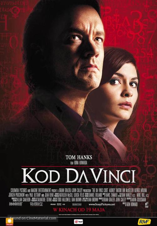 The Da Vinci Code - Polish Movie Poster