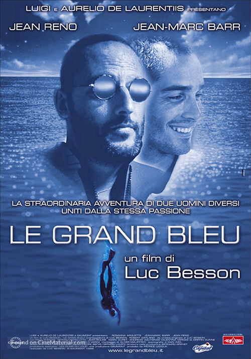 Le grand bleu - Italian Movie Poster