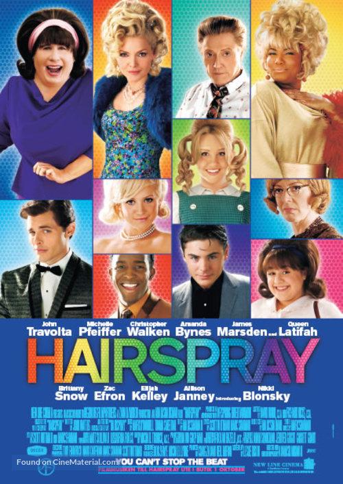 Hairspray - Swedish Movie Poster