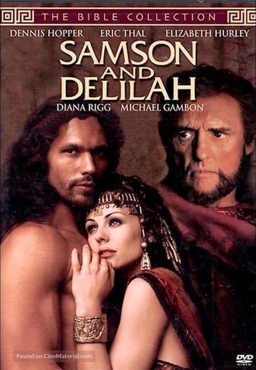 Samson and Delilah - DVD movie cover