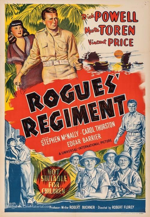Rogues' Regiment - Australian Movie Poster