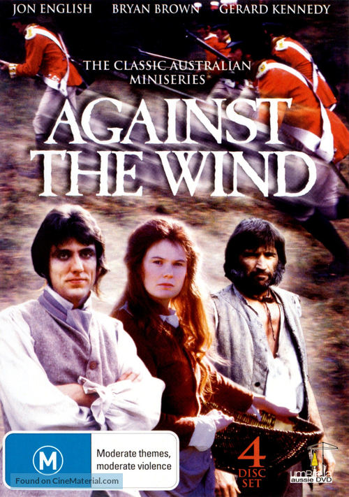 """Against the Wind"" - Australian DVD movie cover"