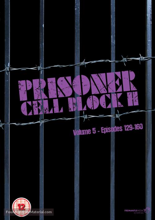 """Prisoner"" - British DVD movie cover"