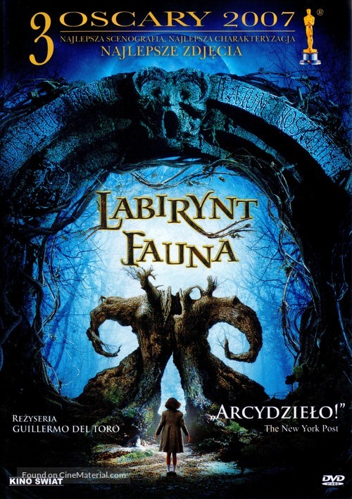 El laberinto del fauno - Polish Movie Cover