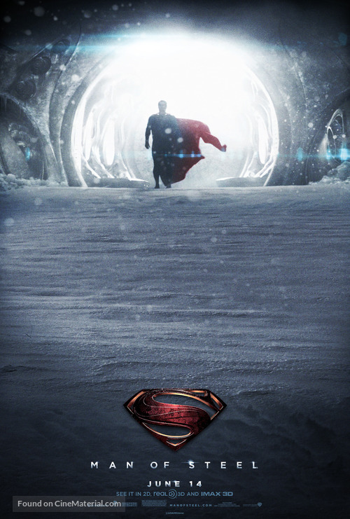 Man of Steel - Movie Poster