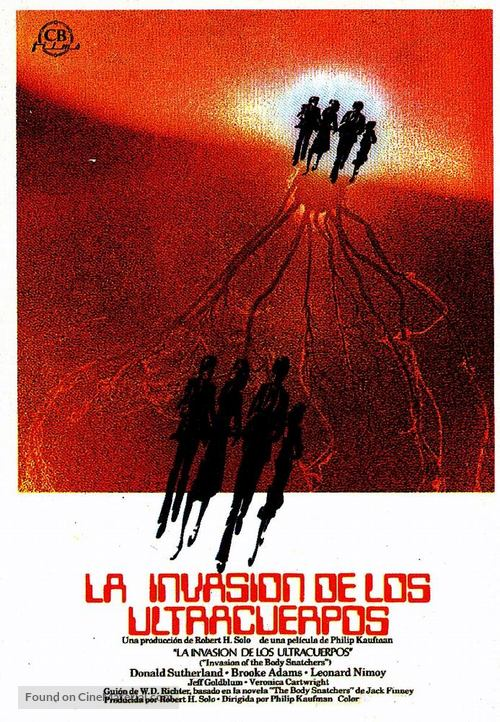 Invasion of the Body Snatchers - Spanish Movie Poster