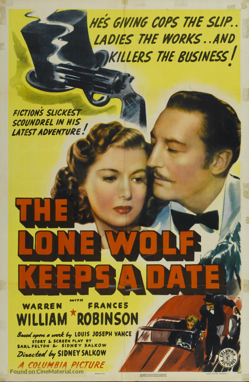 The Lone Wolf Keeps a Date - Movie Poster