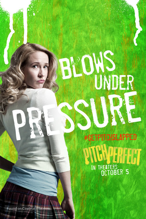 Pitch Perfect (2012): Mormon Movie Review - This Mormon Life   Pitch Perfect 2012 Movie Poster
