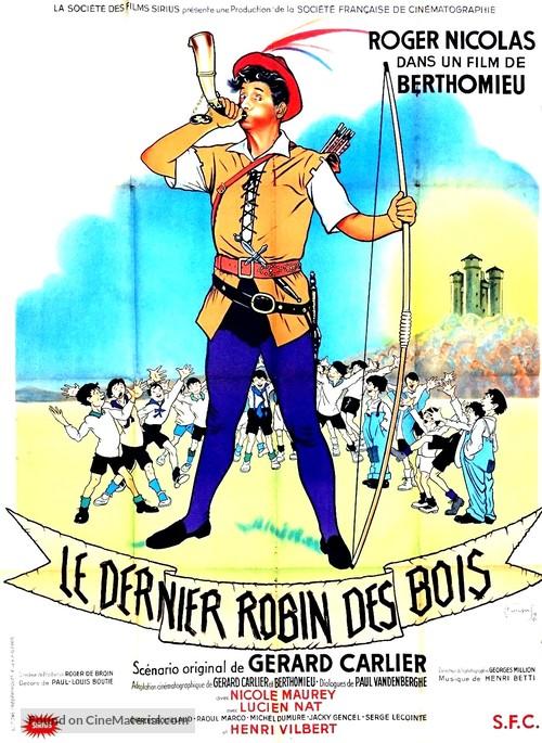 Le dernier Robin des Bois - French Movie Poster