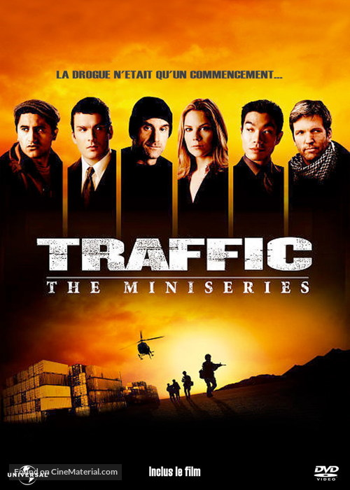 """""""Traffic"""" - French DVD movie cover"""
