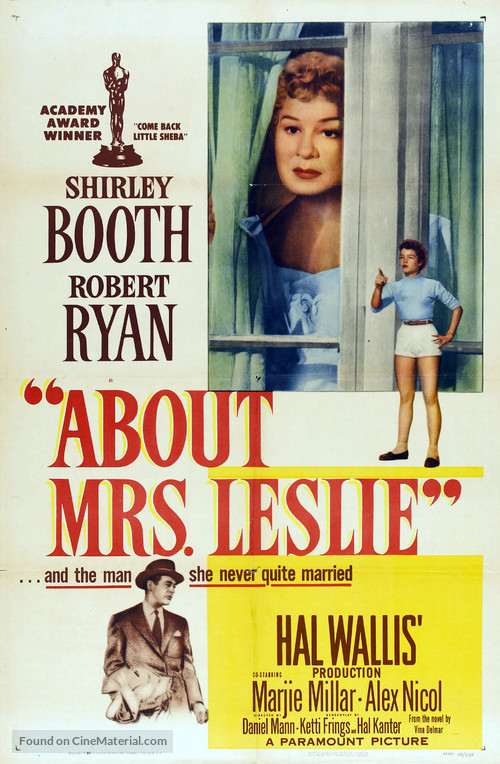 About Mrs. Leslie - Movie Poster