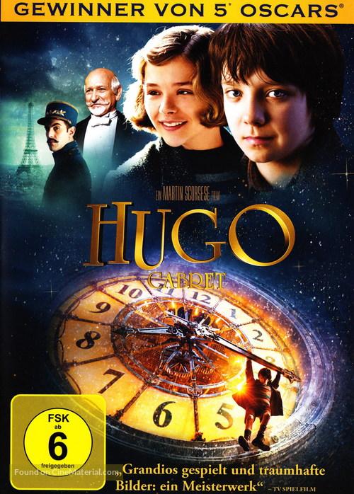 Hugo - German DVD movie cover