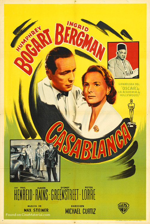 Casablanca - Argentinian Movie Poster