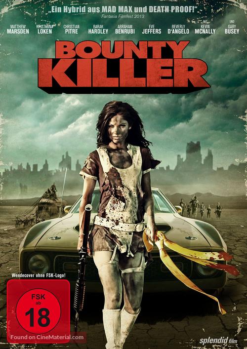 Bounty Killer - German DVD movie cover