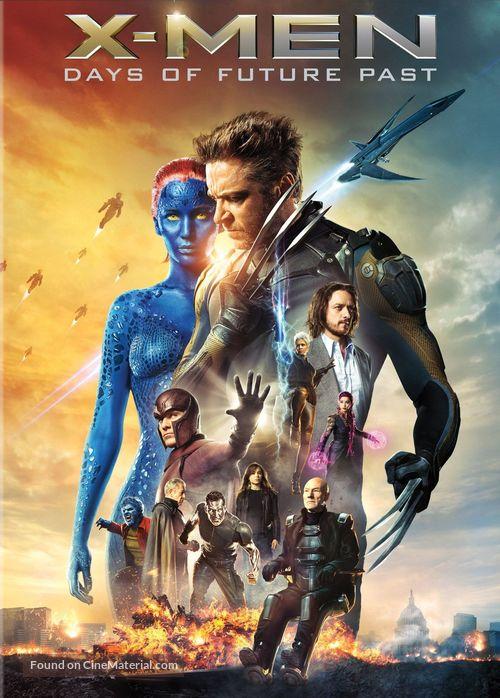 X-Men: Days of Future Past - DVD movie cover