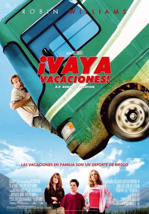 RV - Spanish Movie Poster