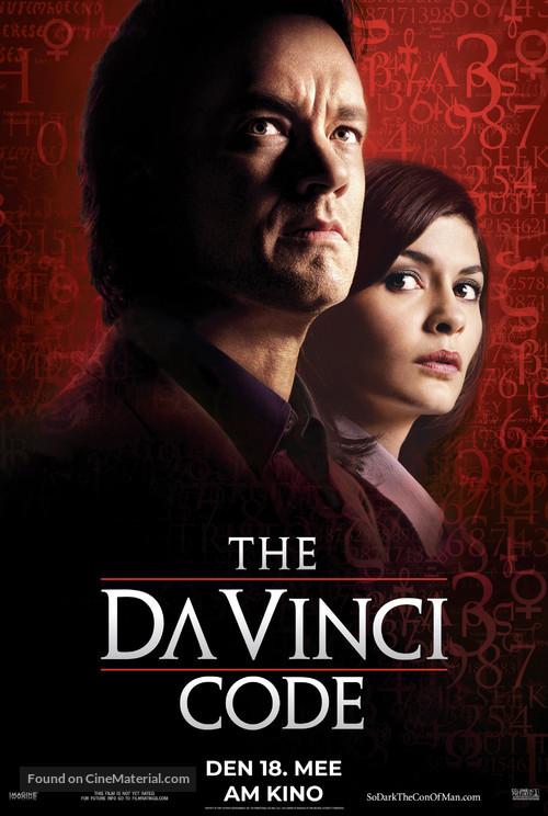 The Da Vinci Code - Luxembourg Movie Poster