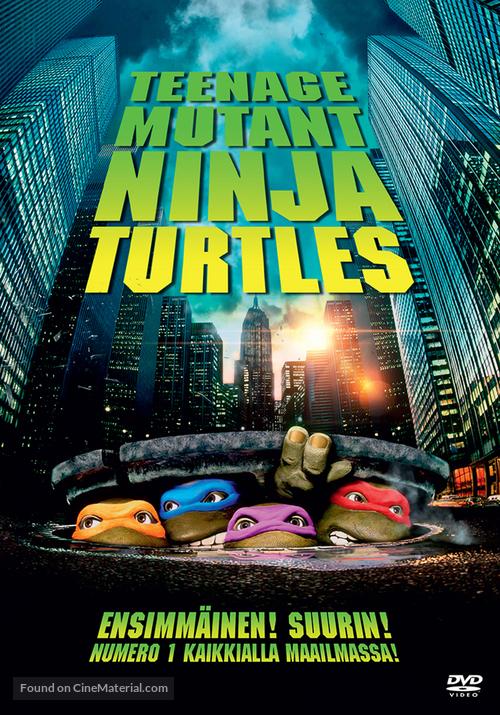 Teenage Mutant Ninja Turtles - Finnish DVD cover
