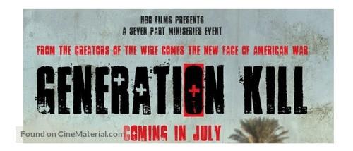 """Generation Kill"" - Logo"