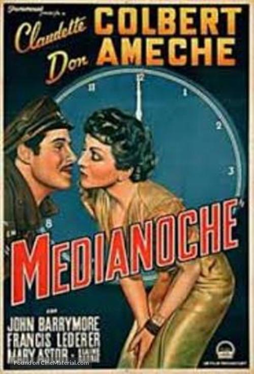 Midnight - Spanish Movie Poster