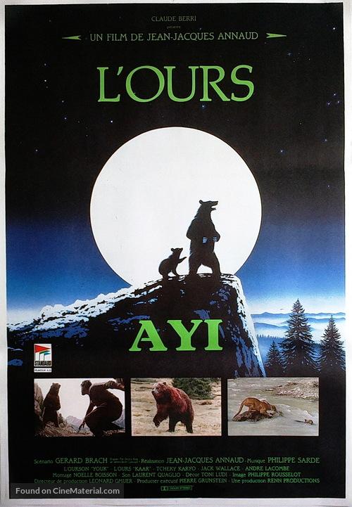 The Bear - Turkish Movie Poster