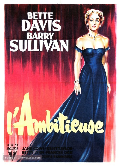 Payment on Demand - French Movie Poster