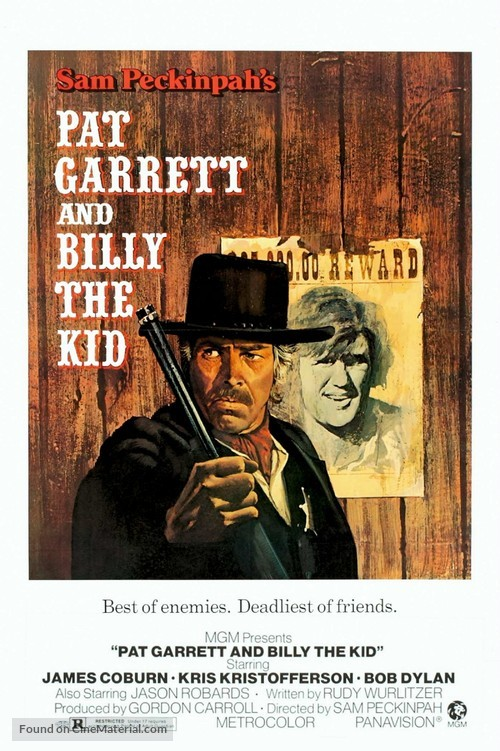 Pat Garrett & Billy the Kid - Movie Poster
