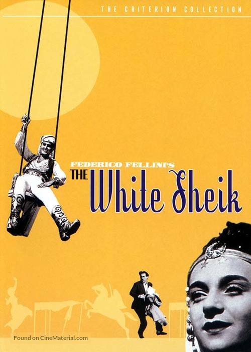 Lo sceicco bianco - DVD movie cover
