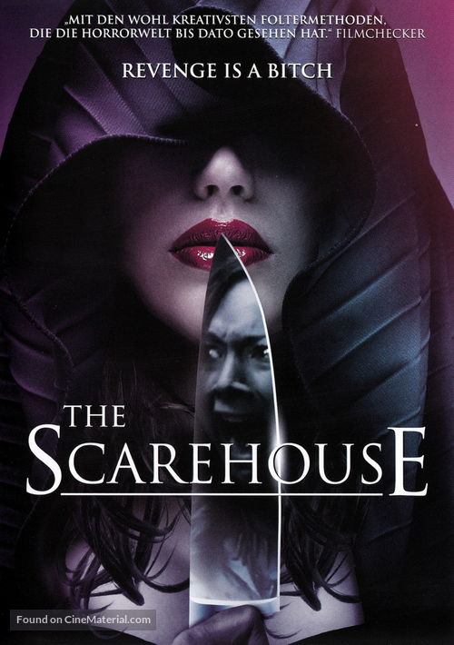 The Scarehouse - Swiss DVD cover
