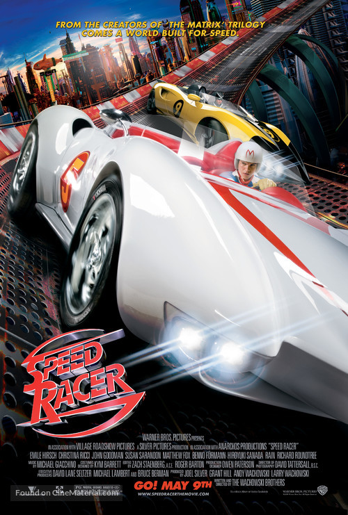 Speed Racer - Movie Poster