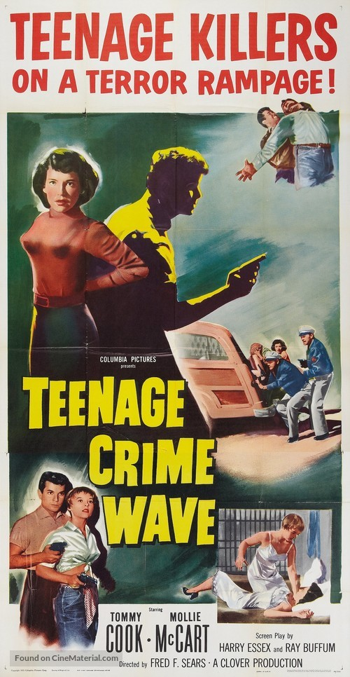 Teen-Age Crime Wave - Movie Poster