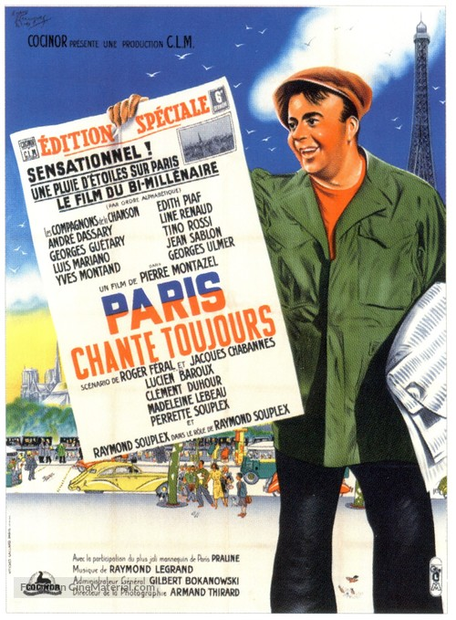 Paris chante toujours! - French Movie Poster