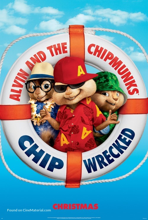 Alvin and the Chipmunks: Chipwrecked - Movie Poster