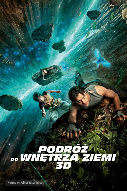 Journey to the Center of the Earth - Polish Movie Cover